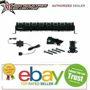Rigid Industries 20 Led Light And Gps Module And Stealth Mount Bracket Kit Adapt