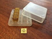 15 Geiger Edelmetalle Gold Gram Squares In Lev 1g X 30 Box - Fast Shipping Usa