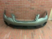 2008-2009 Subaru Outback Front Bumper Cover Oem Used Seacrest Green