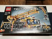 New 8053 Lego Technic Mobile Crane And Harbor Crane 2 In 1 Building Toy Retired A