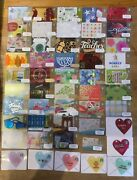 Rare Collectible Starbucks Gift Card Lot Of 50 Set 6