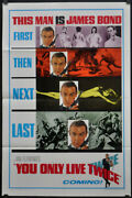 You Only Live Twice And03967 Original 27x41 Teaser Movie Poster Sean Connery 007 Bond