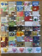 Rare Collectible Starbucks Gift Card Lot Of 50 Set 8