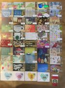 Rare Collectible Starbucks Gift Card Lot Of 50 Set 12