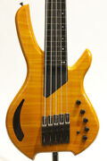 Willcox Guitar Saber 5 Fretless Used Electric Bass