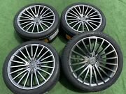 Set Mercedes-benz S550 S560 S450 Wheels Oe Style Rims Amg Continental Tires