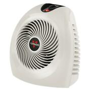 Electric Space Heater With Thermostat Fan Compact Personal Indoor Home 1500-watt