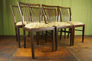 Dining Room Chairs Vintage 50er 6 Pieces Rockabilly Kitchen Retro 50s 2