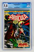 Tomb Of Dracula 10 Cgc 7.5 White Pages First Blade Appearance 1st App Grail Key