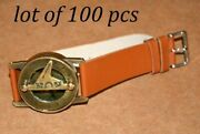 Antique Steampunk Vintage Wrist Brass Compass And Sundial-watch Lot Of 100 Pcs