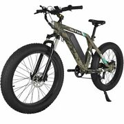 Electric Bike 26 Powerful 750w 48v Removable Battery 7 Speed Gears Fat Tire