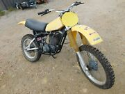 And03979 Yamaha Yz250f Yz It 400 E Vintage Mx Motocross Running Core Rebuilder Parts