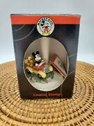 Mickey Mouse Ceramic Cookie Stamp Pluto In Car Sugar Cookie Micky Face In Box