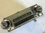1965 65 Old Cutlass S 442 Used Gm Delco Am Pushbutton Radio