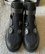 Authentic New Black Boots. Size 38