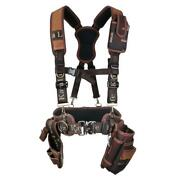 Kl-600 Suspenders Support Tool Belt Drill Pouch Holder For Industrial Working