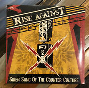 Rise Against - Siren Song Of The Counter Culture Sealed Vinyl Lp New