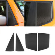 For Jeep Renegade 2016-2022 Car Front Rear Window Triangle Glass Panel Decal