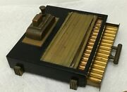 Vintage Working Ronson Touch Tip Cigarette, Cigar Case / Box And Lighter 1930's