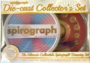 Spirograph Die-cast Collectorandrsquos Set The Ultimate Collectible Spirograph Drawing