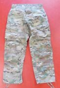 Us Army Multi-cam Army Combat Pants Crye Precision Knee Pads Slots Med Regular