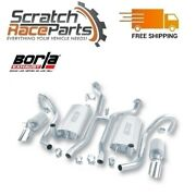 Borla Fits 94-96 Chevy Impala Ss/caprice Cat-back Exhaust Touring Classic 5.7l