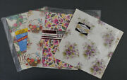 Lot 70s Vintage Wrapping Paper All Occasion Florals American Greetings Norcross
