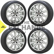 18x8 18x9 Cadillac Ats Coupe Pvd Chrome Wheels Tires Factory Oem Set 4 4705 4707