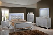 New Classic Furniture Valentino Queen 6 Piece Lighted Bedroom Set 9698-310