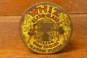 Rare Vintage Early 1900s Whiz Windshield Kleer Glass Tin Oil Can W/ Elf Graphics