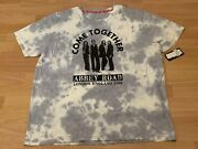 New Rare Vtg Beatles Come Together Abbey Road Hard Rock Cafe Tie Dye Sz Xxl