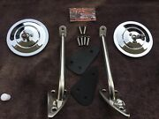 Chevrolet Truck Outside Mirror Kit 1960 61 62 63 64 65 Gmc With Screws Gaskets