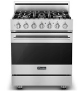 Viking Rvdr33015bss 3 Series 30 Inch Freestanding Dual Fuel Range With Natural G