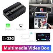 Plug And Play Supports Usb Vehicles With Carplay 4+32g Bt For Volvo S60 S90 Xc60
