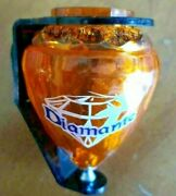 Mexican Cometa Diamante Plastic Spin Top Trompo With Holder And Thread Piola