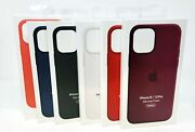 Apple Genuine Iphone 12 / Iphone 12 Pro 6.1 Silicone Case W/ Magsafe In Retail