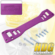 For 2002-2006 Acura Rsx Dc5 2002-2005 Civic Purple Rear Lower Subframe Brace Bar
