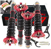 For 93-01 Impreza Wrx Lowering Height Adjustable Coilover Damping Assembly Kit