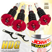 Jdm Sport Height Adjustable Full Coilovers For 91-00 Sc300 Sc400 93-98 Supra