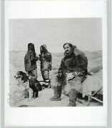 Explorer Frederick Cook In Arctic W Furs And Sled Dogs C 1910 Press Photo