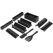 Sushi Making Kit, 10 Pack Sushi Maker Tool With Rice Roll Mold Fork Spatula