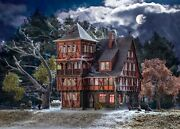 Ho Scale Buildings - 43679 - H0 Villa Vampire With Colour Tablets - Kit