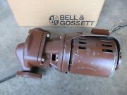 Bell And Gossett Booster Series Pr Series 100 In Line Booster Pump Flanged