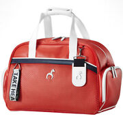 Callaway Filly Women's Golf Dress Clothes Pouch Travel Case Boston Bag Red