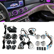 New 64-color Led Ambient Light Speaker For Mercedes-benz E-class W213 C124 17-20