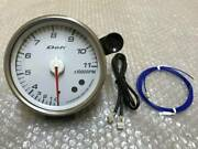 Out Of Print Defi Dephy 115 Large Octopus Meter Tachometer Rpm Spinometer Jza80