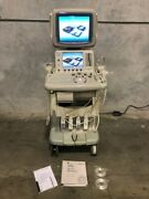 Ge Logiq 7 Ultrasound With 3.5c, 10l, 7l And E8c Probes