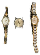 Womens Timex Pulsar Wrist Watches Lot Of 3 Not Tested Parts Only