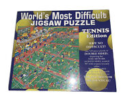 Worlds Most Difficult Jigsaw Puzzle Tennis Edition 1995 Buffalo 592 Pieces