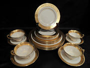 Lenox China Westchester Pattern Service For 4 Total 20 Pcs.